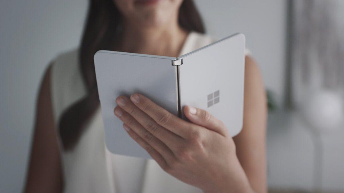 Microsoft presenta a sorpresa Surface Duo: uno smatphone con Android