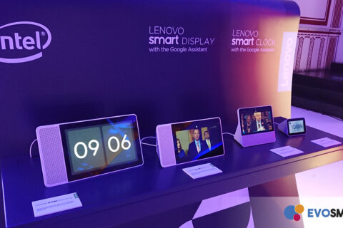 Smart Display e Smart Clock Lenovo | Evosmart.it