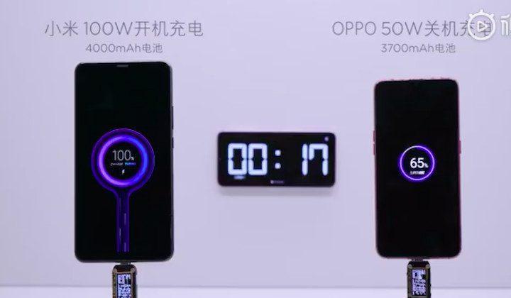 Xiaomi: nuovi dettagli sulla ricarica ultra rapida da 100W!