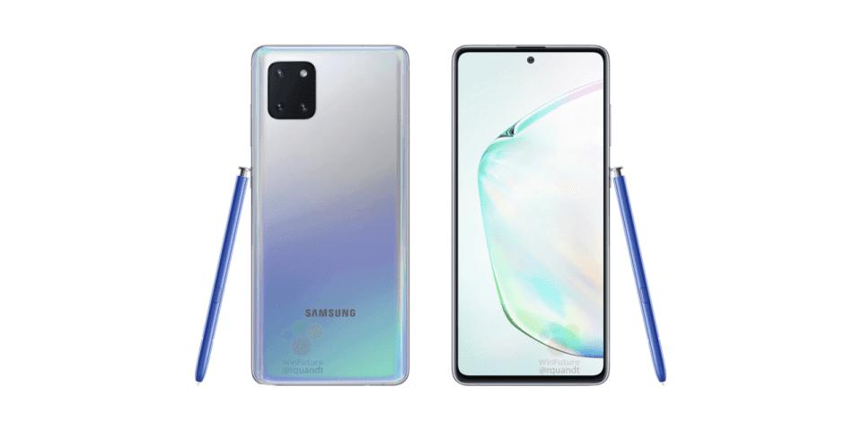 Samsung Galaxy Note 10 Lite: immagini ufficiali e prezzo
