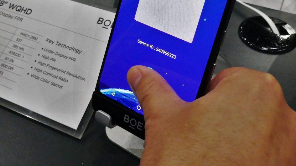 Lettori di impronte under screen sui display LCD dal 2020?