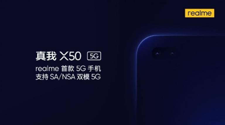 Realme X50 5G: trapelano prezzo e specifiche tecniche