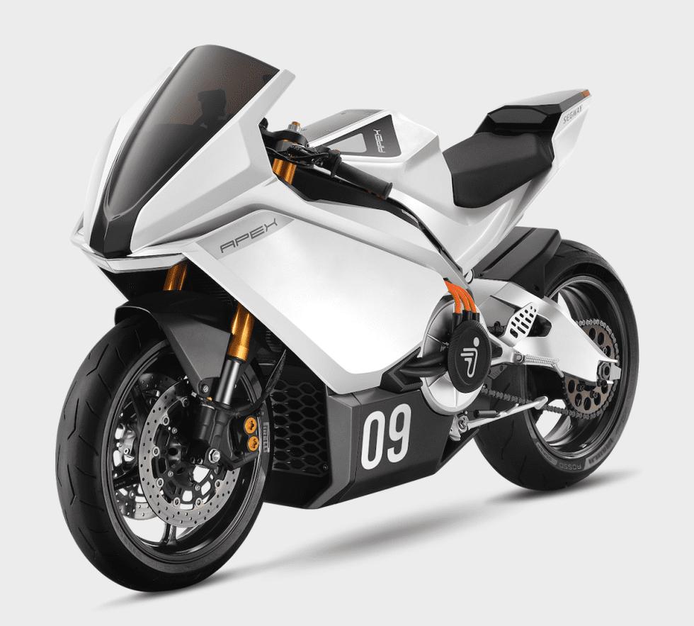 Segway Apex - Video del prototipo della moto elettrica