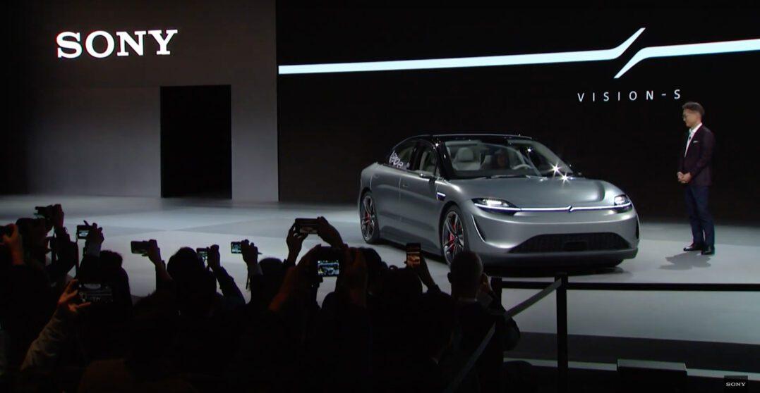 CES 2020   Sony presenta un'auto elettrica!?! Ecco Vision-S