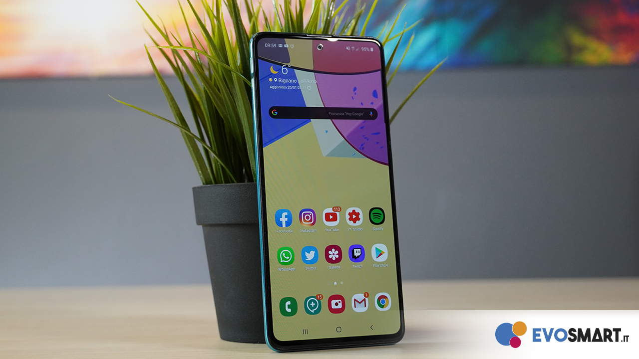 Samsung Galaxy A51 copertina