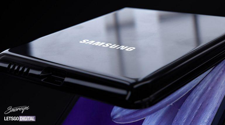 Samsung Galaxy Z Flip alcuni render