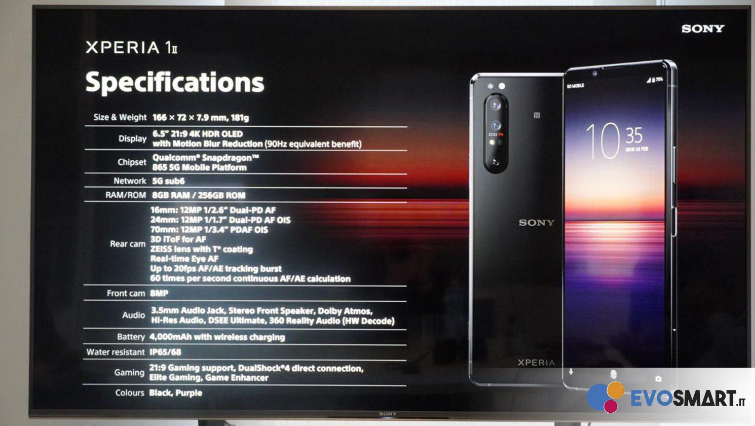 Sony presenta il suo nuovo top di gamma, Xperia 1 Mark II