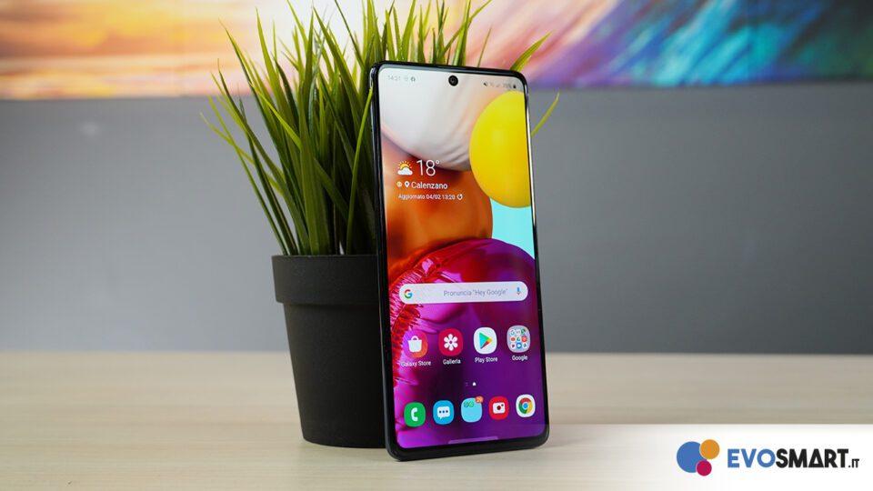 Samsung Galaxy A71 1