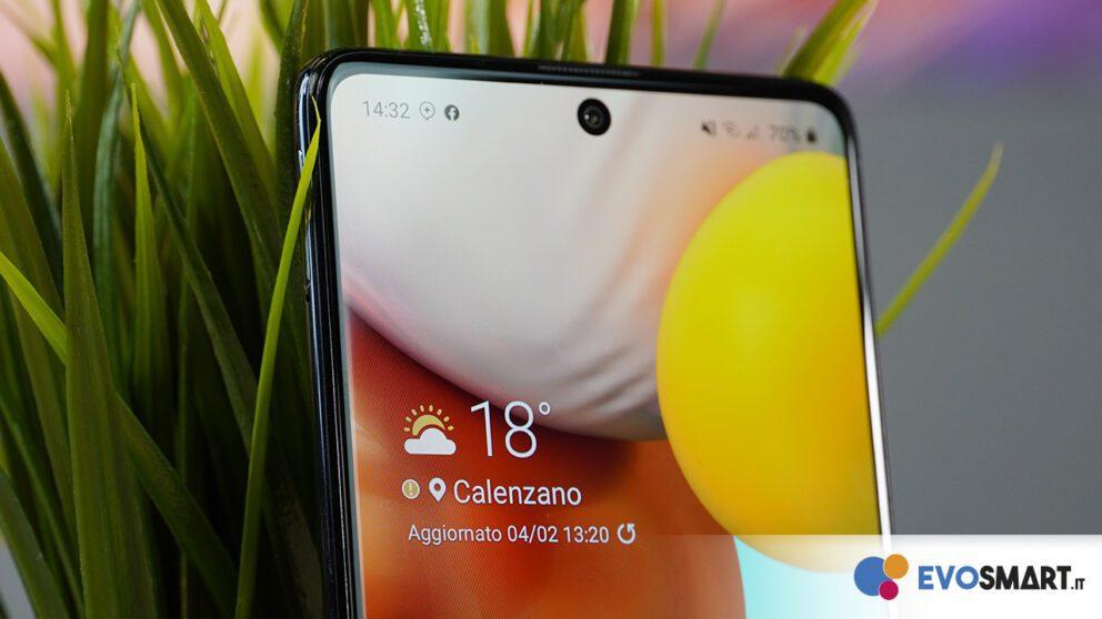 Samsung Galaxy A71 6