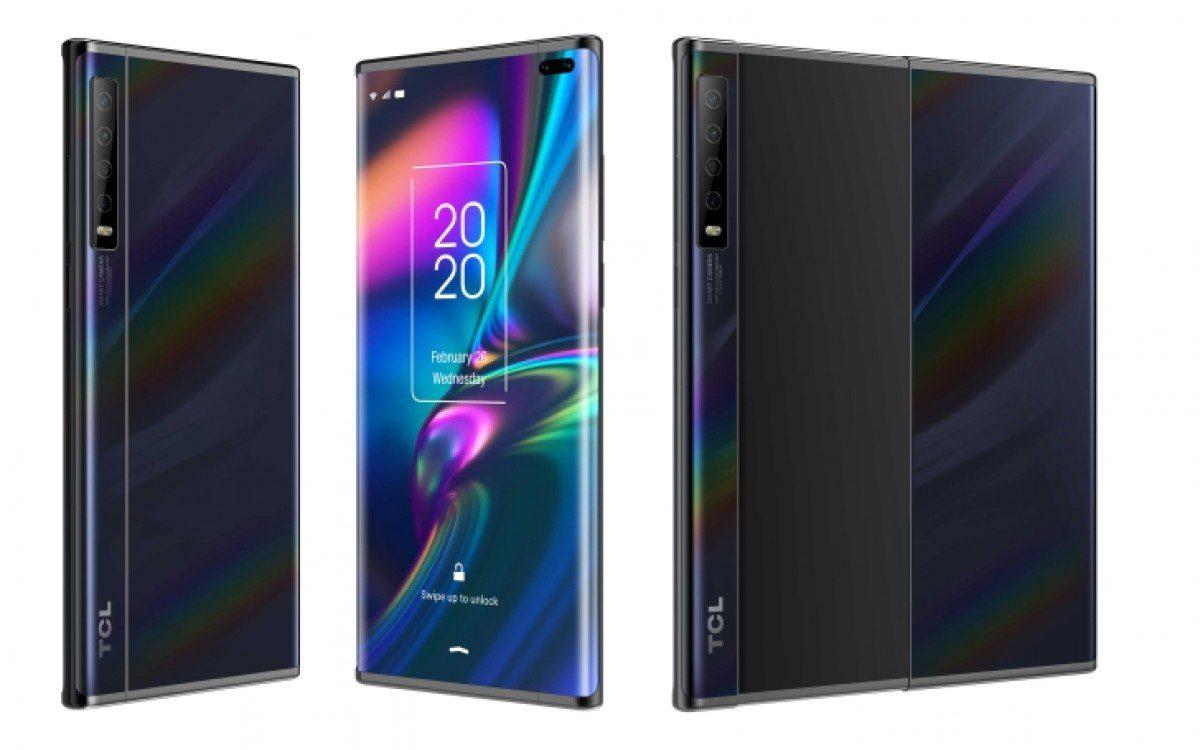 TCL mostra i suoi 2 concept foldable smartphone