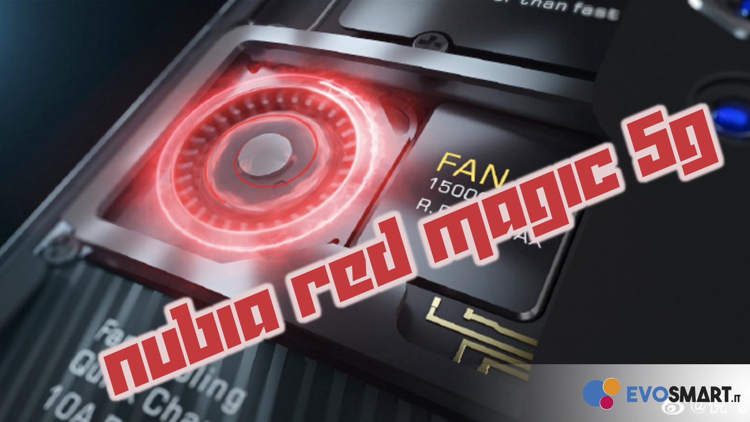 Nubia Red Magic 5G - Trigger dorsali e touch screen a 300 Hz