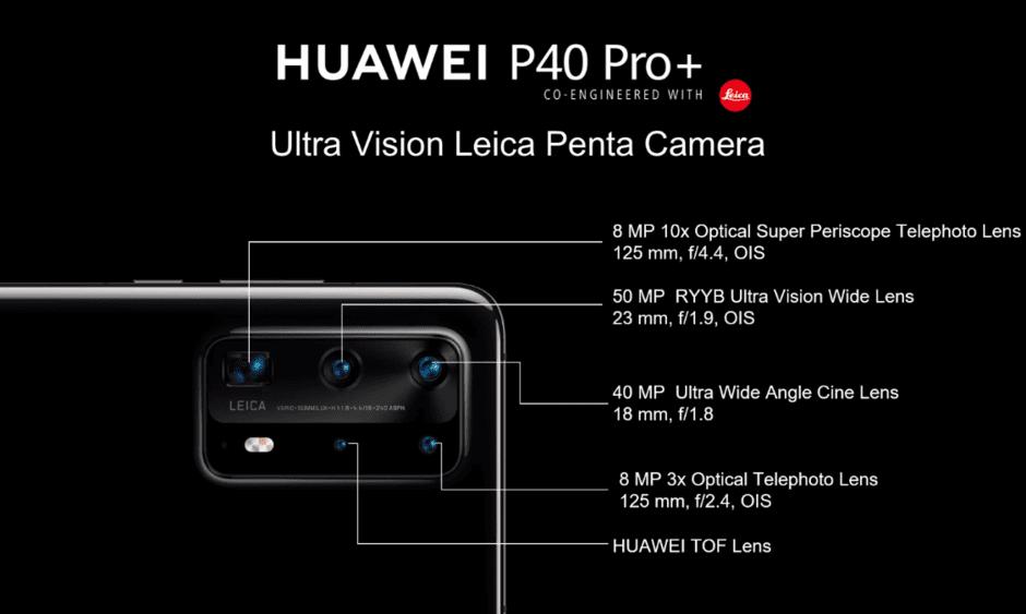 Huawei P40 Pro Plus: ufficiale con doppio zoom e corpo in ceramica