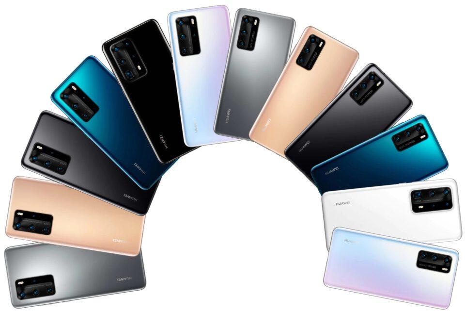 Huawei P40 e P40 Pro svelati: prezzi e specifiche tecniche