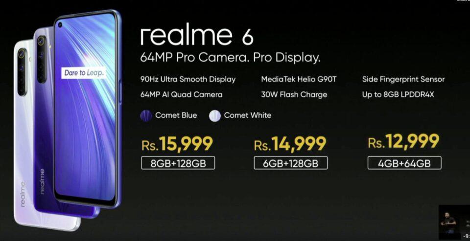Realme 6 e 6 Pro ufficiale: ecco le specifiche tecniche | Evosmart.it