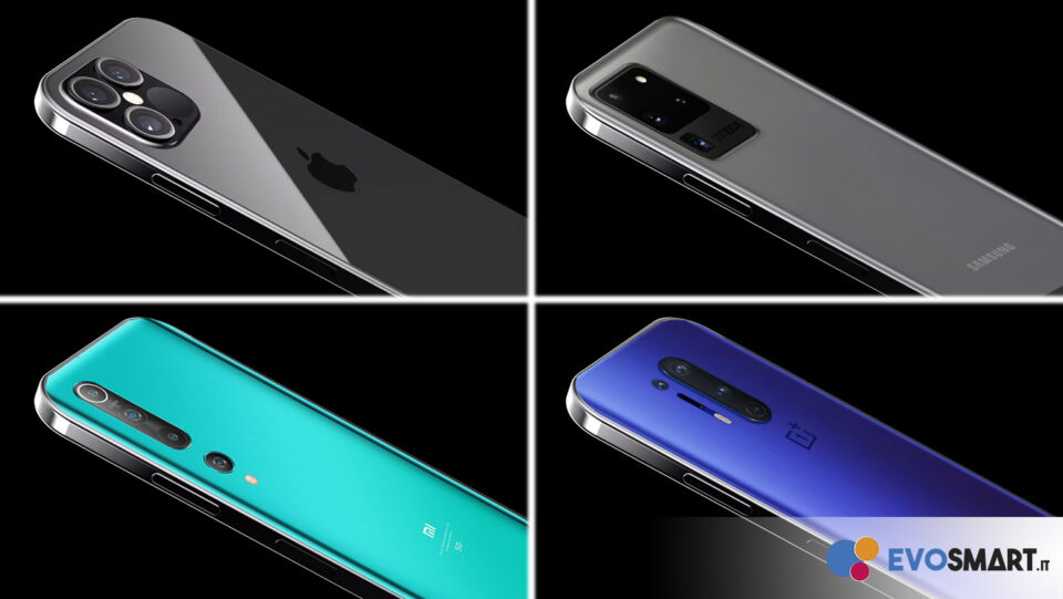 Ma il 2021 sarà l'anno degli smartphone a bordo piatto?