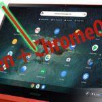 Samsung Galaxy Chromebook: ChromeOS + pennino