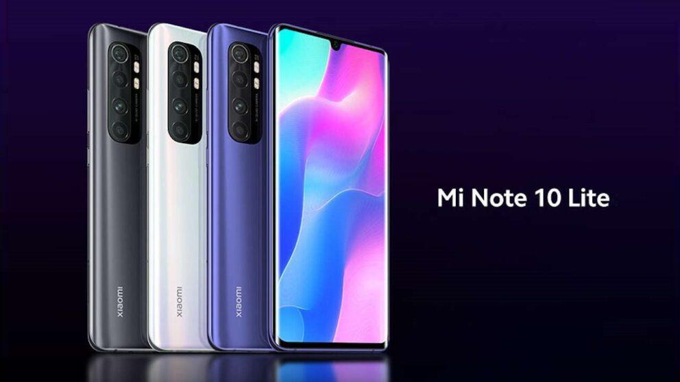 Xiaomi Mi Note 10 Lite: immagini e caratteristiche tecniche