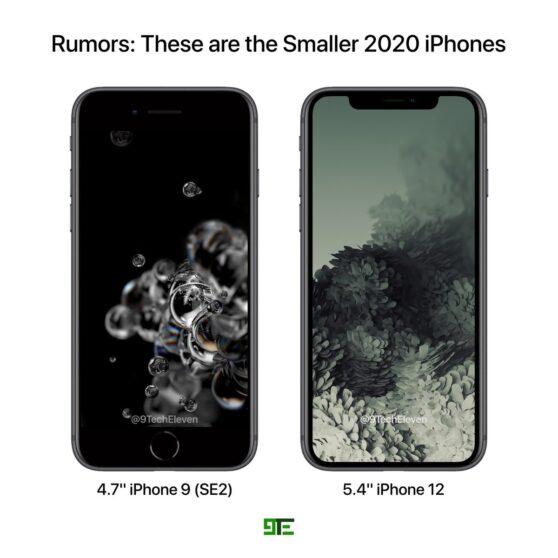 """Apple: il prezzo dell'iPhone 12 da 5,4"""" potrebbe essere allettante"""