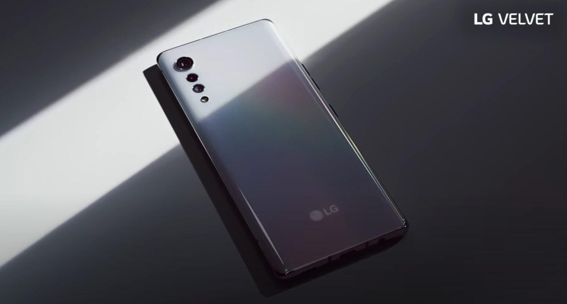 LG Velvet si mostra in un teaser ufficiale: confermato lo Snapdragon 765