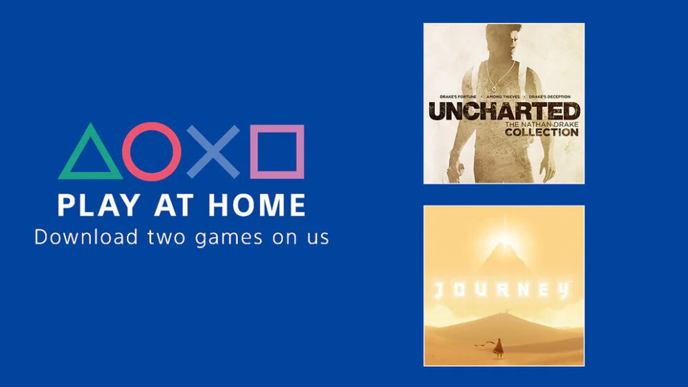 Con Play at Home giochi gratis per tutti: il regalo di Sony ai player