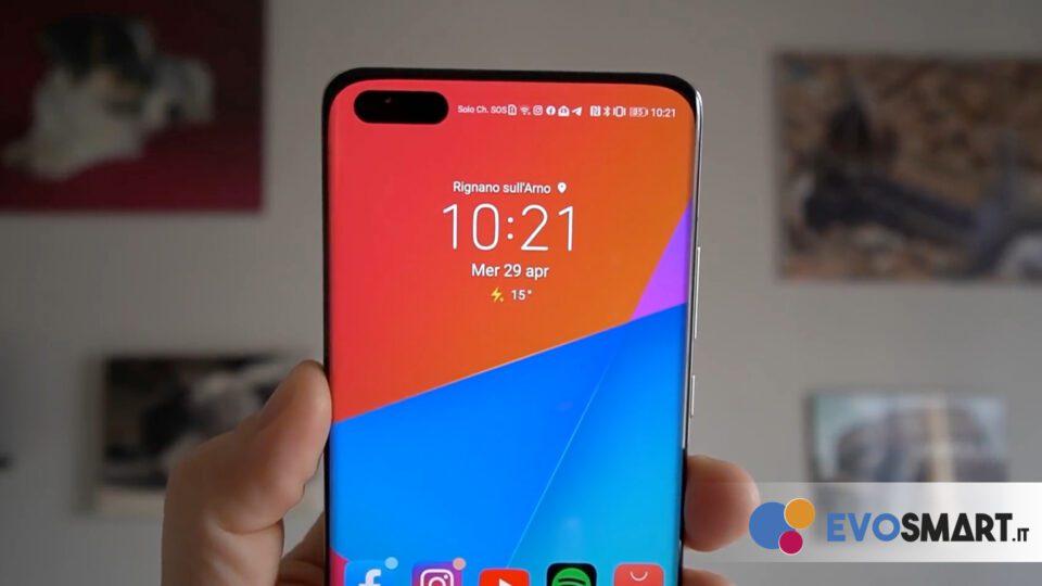 Huawei ha deciso di adottare il display hole su questo nuovo P40 Pro | Evosmart.it