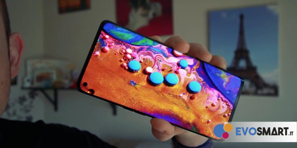 عرض ألوان ممتاز للشاشة في هاتف Oppo Find X2 Neo | Evosmart.it
