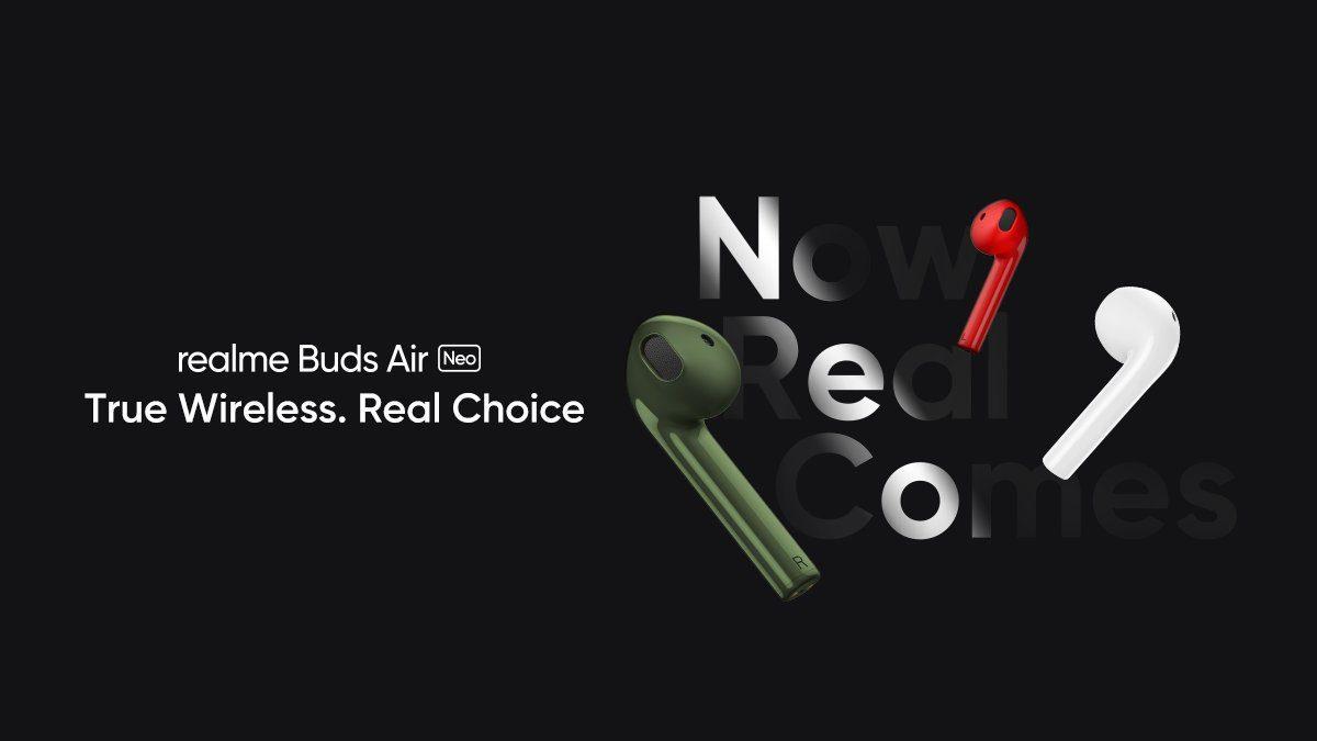 ساعة Realme Watch و Buds Air Neo الرسمية: فيما يلي الميزات 1