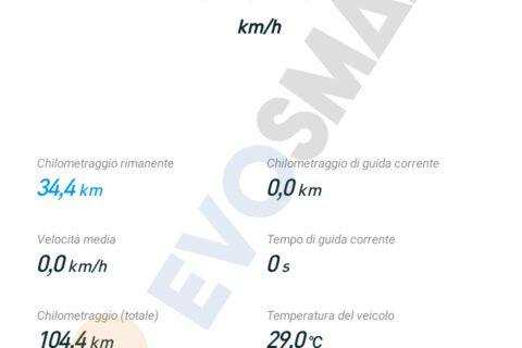 Schermata secondaria Applicazione Segway-Ninebot | Evosmart.it