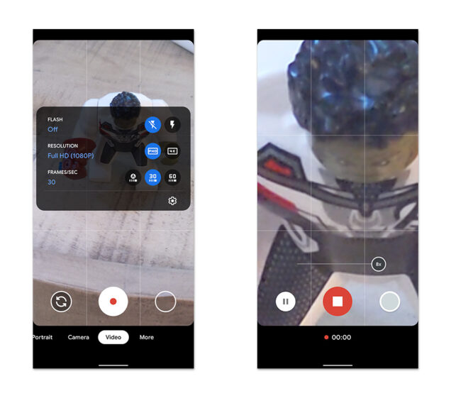 La Google Camera 7.4 porta lo zoom video su Pixel 4, problemi per Pixel 2