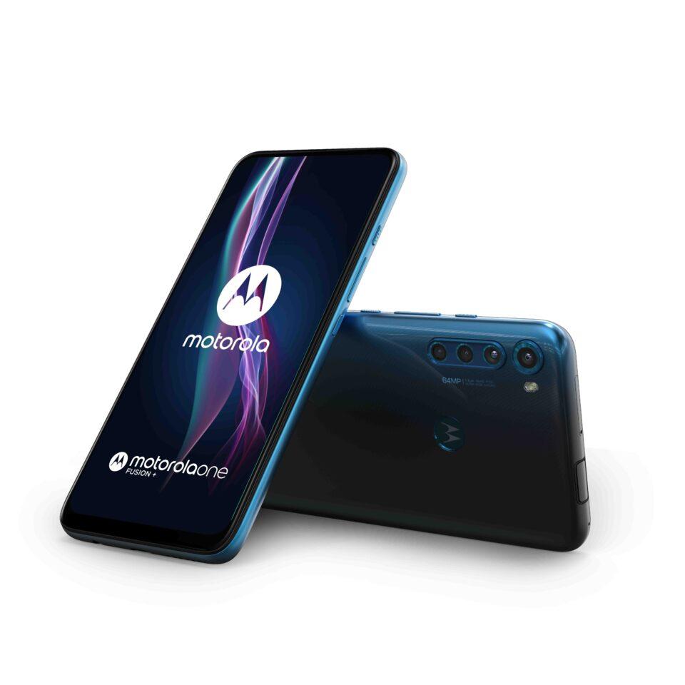 Motorola One Fusion+ è ora ufficiale con 64 MP e 5000 mAh di batteria