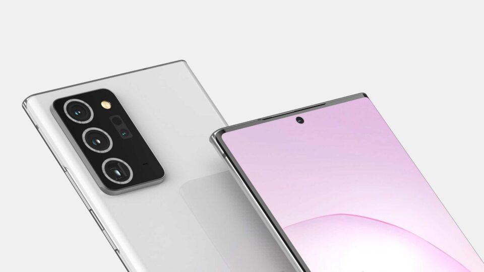 Samsung Galaxy Note 20+ con sensore da 108 MP e zoom 50X