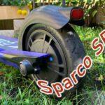 Sparco SEM1, primo giro con il monopattino di Sparco