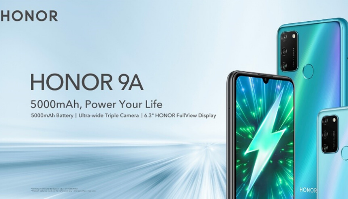 Il nuovo Honor 9A in offerta per poco tempo