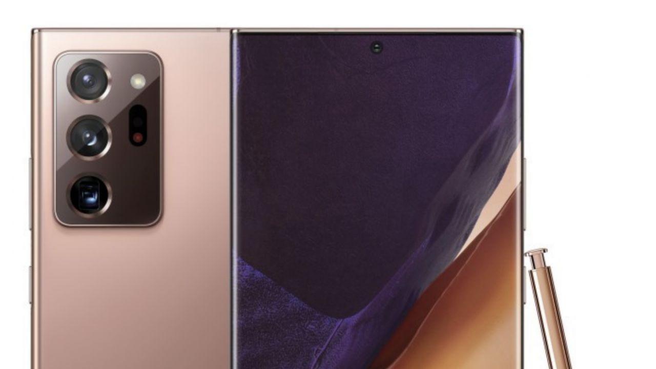 Samsung Galaxy Note 20 Ultra: online la scheda tecnica del dispositivo