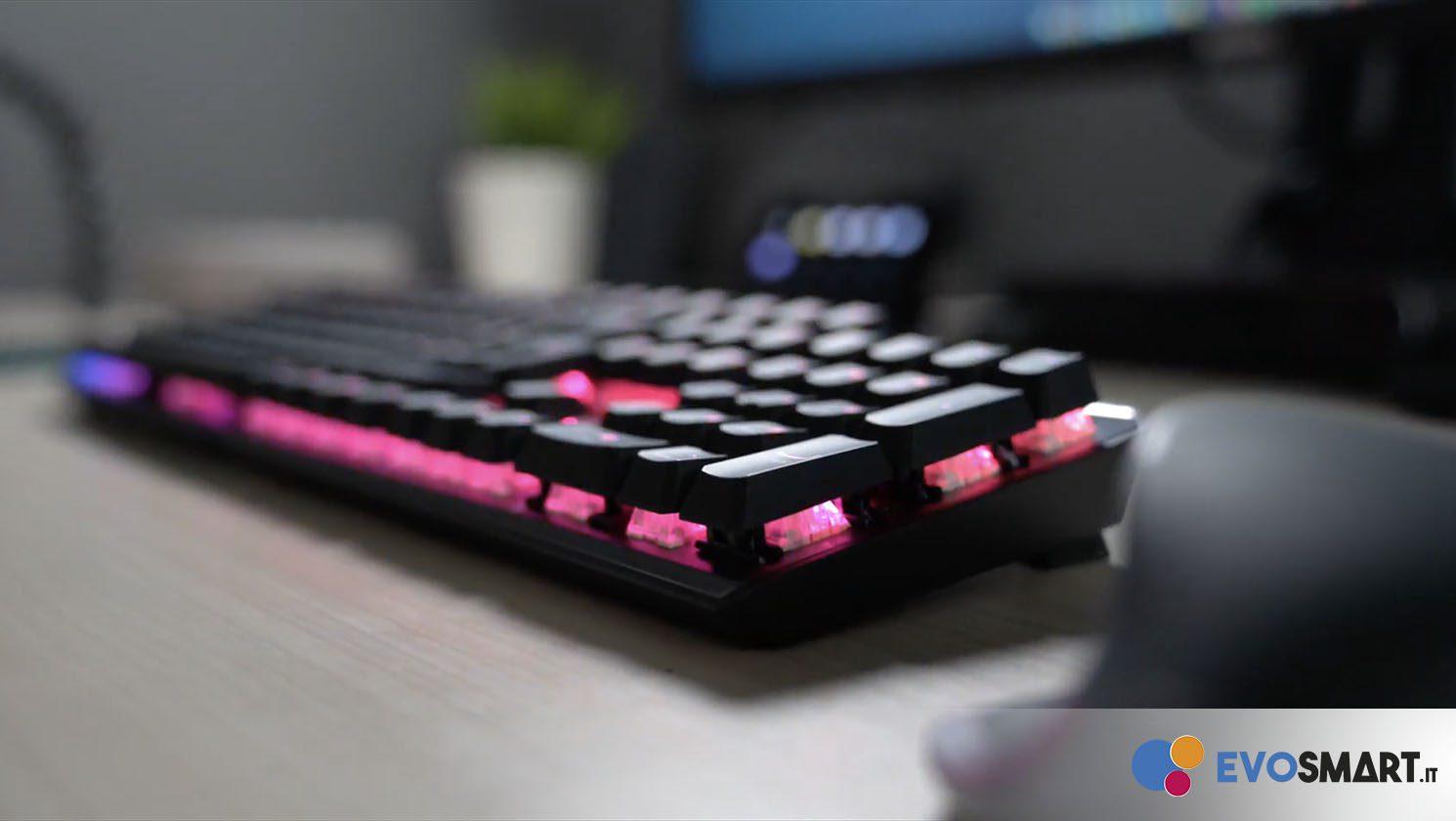Recensione MSI Vigor GK50 Elite, Tastiera da gaming RGB a prezzo contenuto