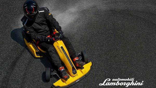 Ninebot GoKart Pro in collaborazione con Lamborghini