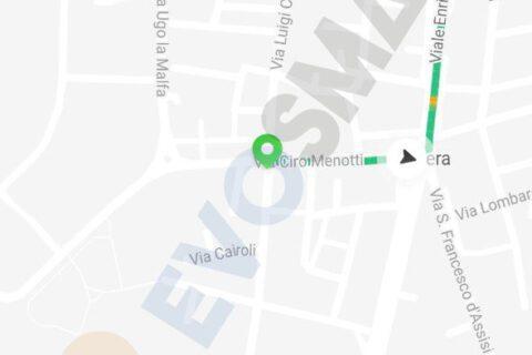 Tragitti Segway-Ninebot App V5 | Evosmart.it
