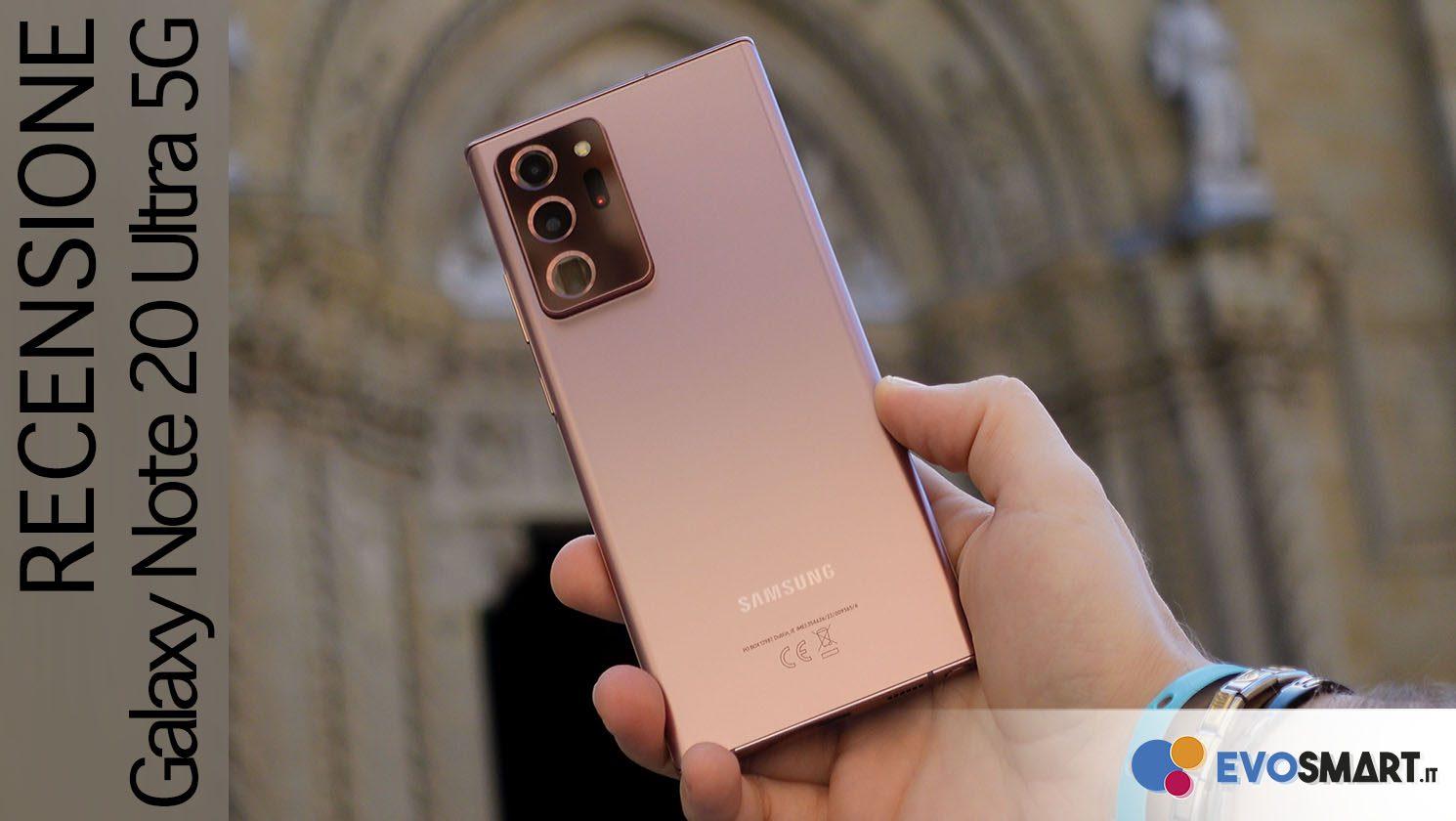 Samsung si è superata con questo Galaxy Note20 Ultra! Recensione