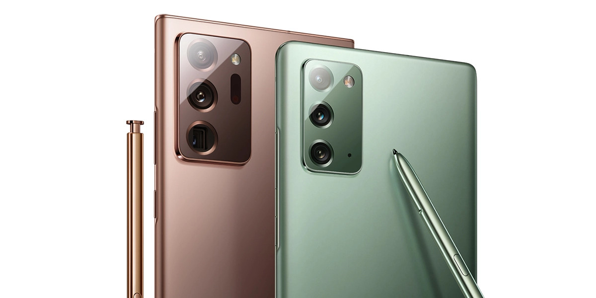 Samsung: la serie Galaxy Note 20 riceve il primo aggiornamento