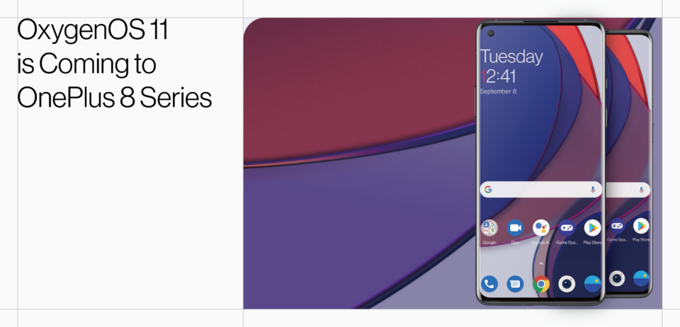 OnePlus OxygenOS 11 Announcement