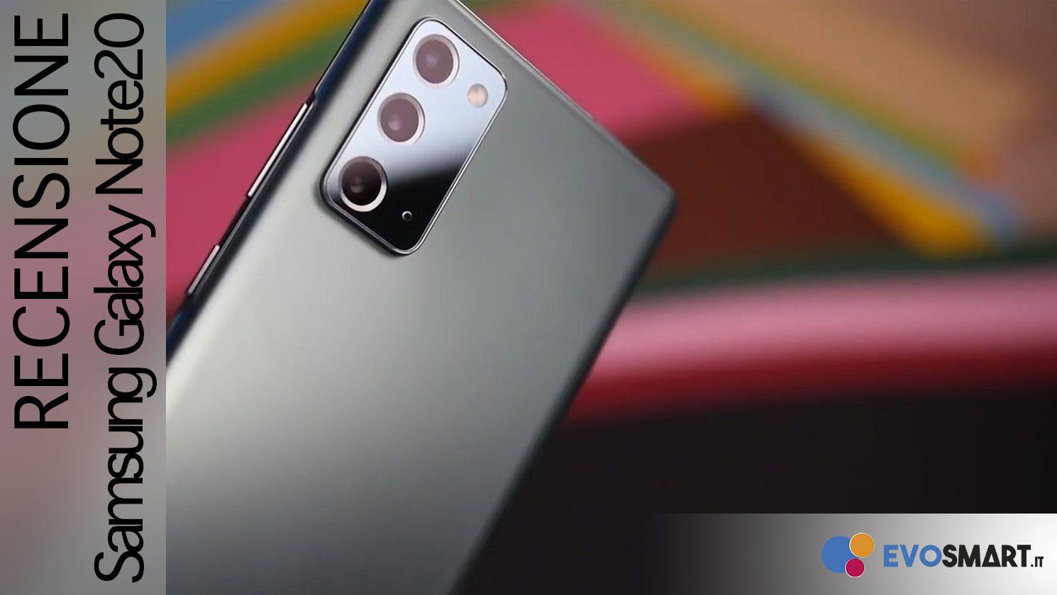 Recensione Galaxy Note20: quando è il prezzo a fare la differenza!