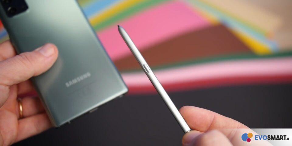 La nuova S-Pen è minimale, funzionale ed incredibilmente semplice | Evosmart.it