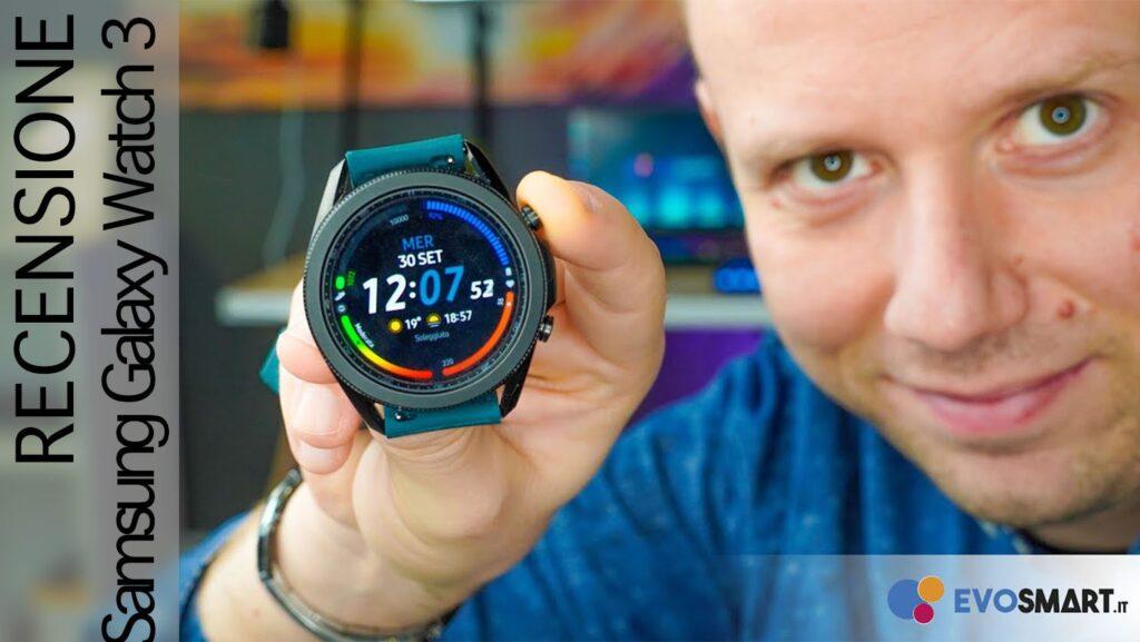 Recensione Galaxy Watch 3. Il mio nuovo smartwatch