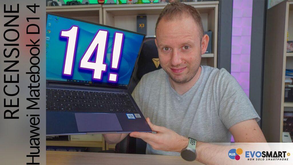 Recensione Huawei Matebook 14: un portatile davvero performante!