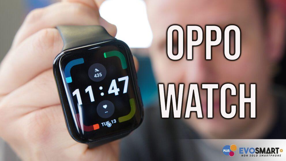 Oppo Watch copertina