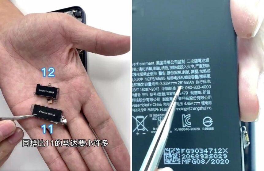 iPhone 12: il primo teardown ne svela le componenti interne