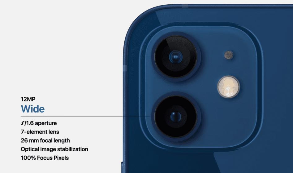 iPhone 12: tutto quello che c'è da sapere sulle fotocamere posteriori   Evosmart.it