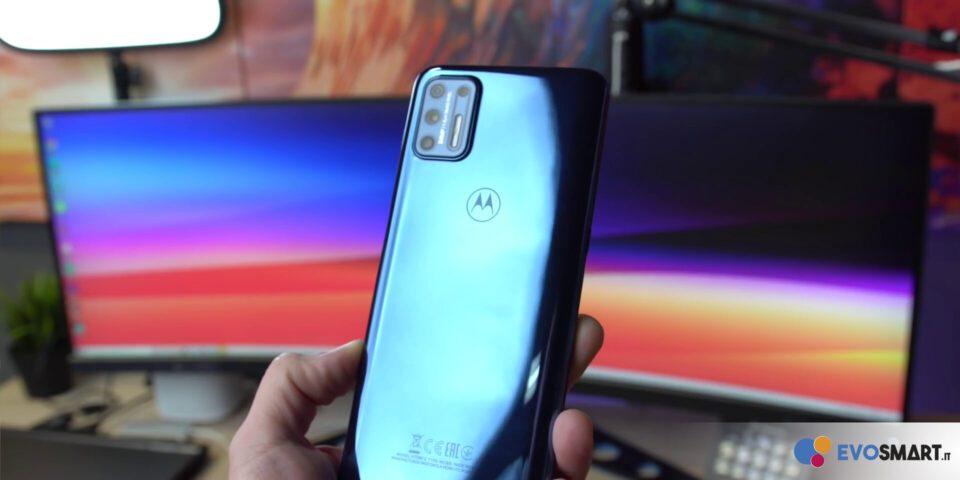 Motorola Moto G9 Plus retro