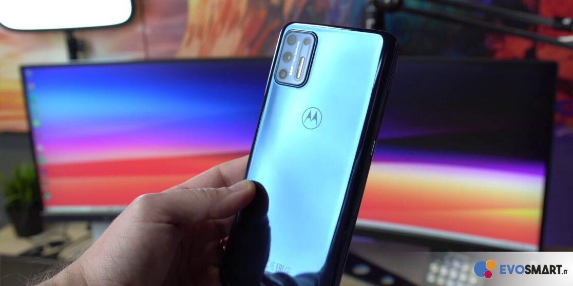 Motorola Moto G9 Plus fotocamere