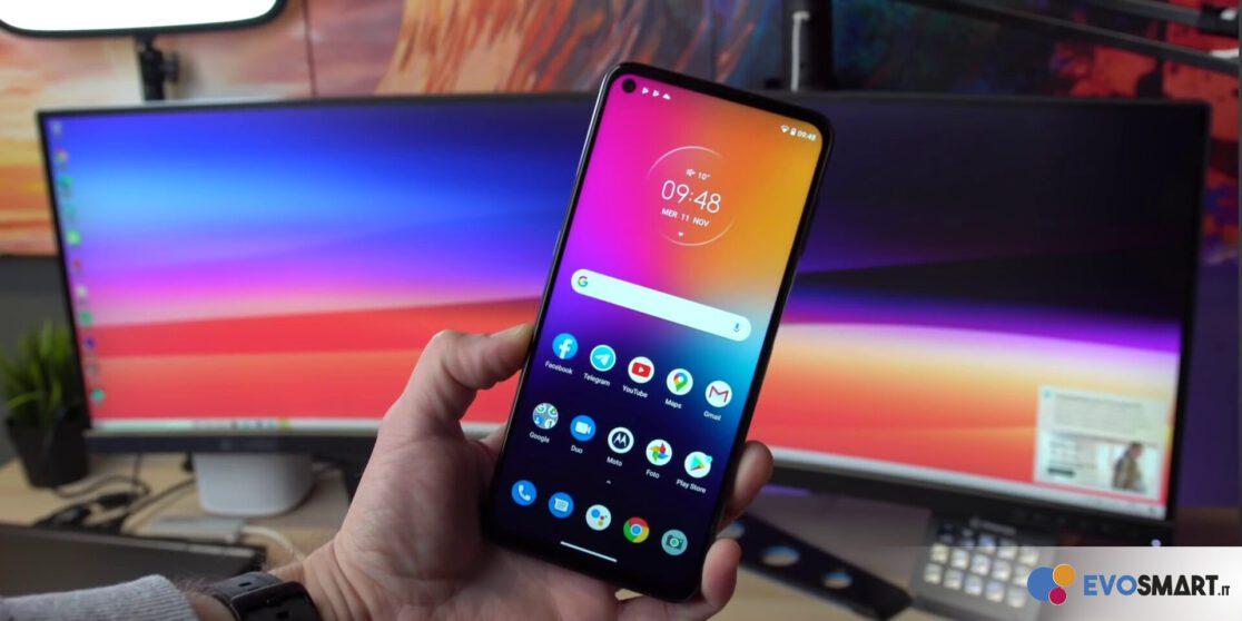 Motorola Moto G9 Plus display